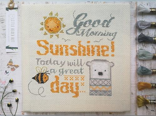 Good Morning Sunshine Cross stitch Kit