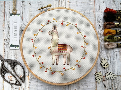Llama called Philip cross stitch kit