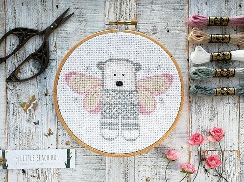 Tooth Fairy Bear Cross Stitch Kit
