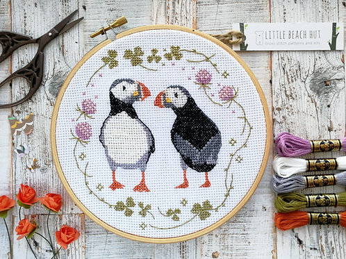 Puffin Compares To You Cross Stitch Kit