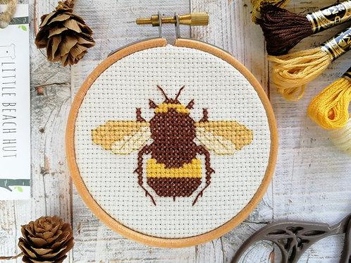 Bumble bee Cross Stitch Kit