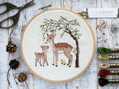Oh Deer Cross Stitch Kit