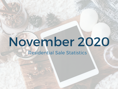 November 2020 Statistics