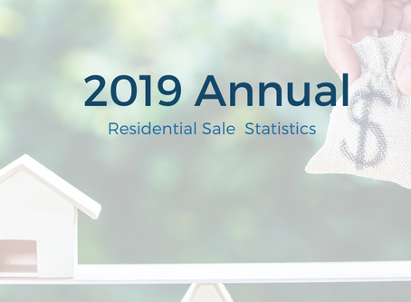 2019 Annual Residential Statistics