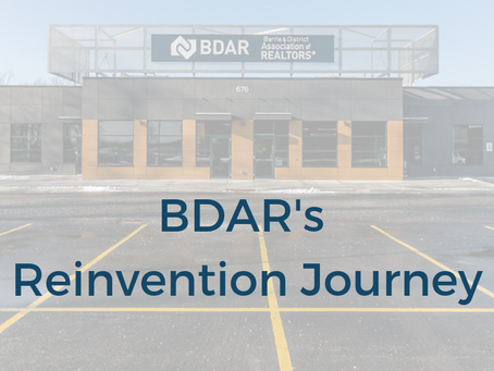 BDAR's Reinvention Journey