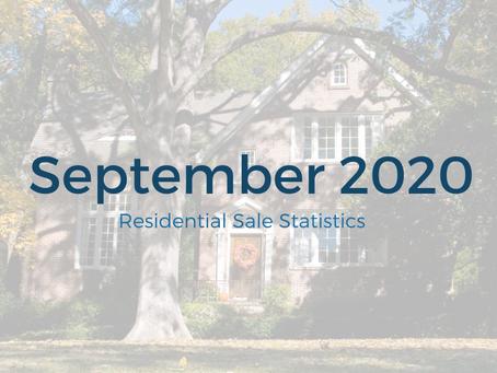 September 2020 Statistics