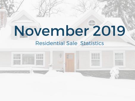 November 2019 Statistics