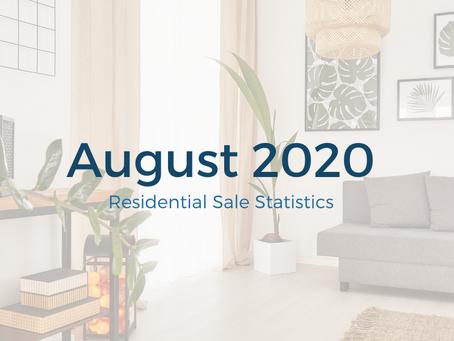 August 2020 Statistics