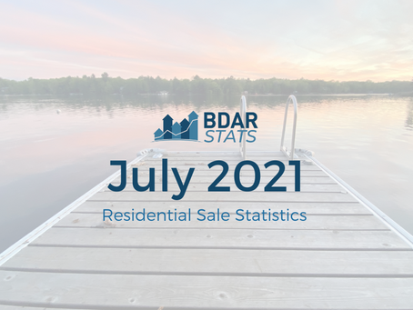 BDAR Stats: July 2021 Residential Sales Report