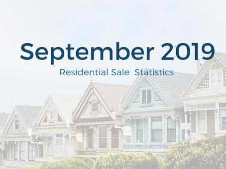 September 2019 Statistics