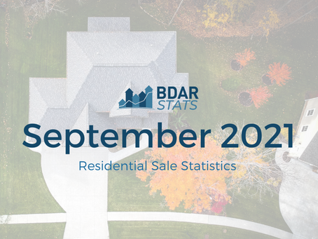 BDAR Stats: September 2021 Residential Sales Report