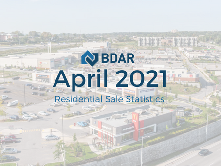 April 2021 Market Statistics