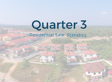 Quarter 3 Real Estate Sales