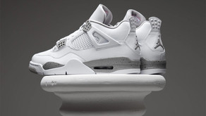 """Nike drop the new Air Jordan 4 """"White Oreo""""and there clean!"""