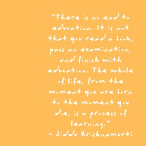 Jiddu Krishnamurti Quote