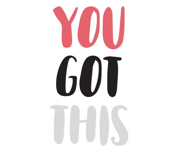 You got this quote