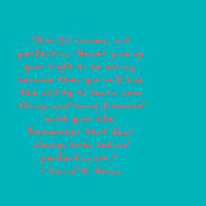 David M. Burns Quote