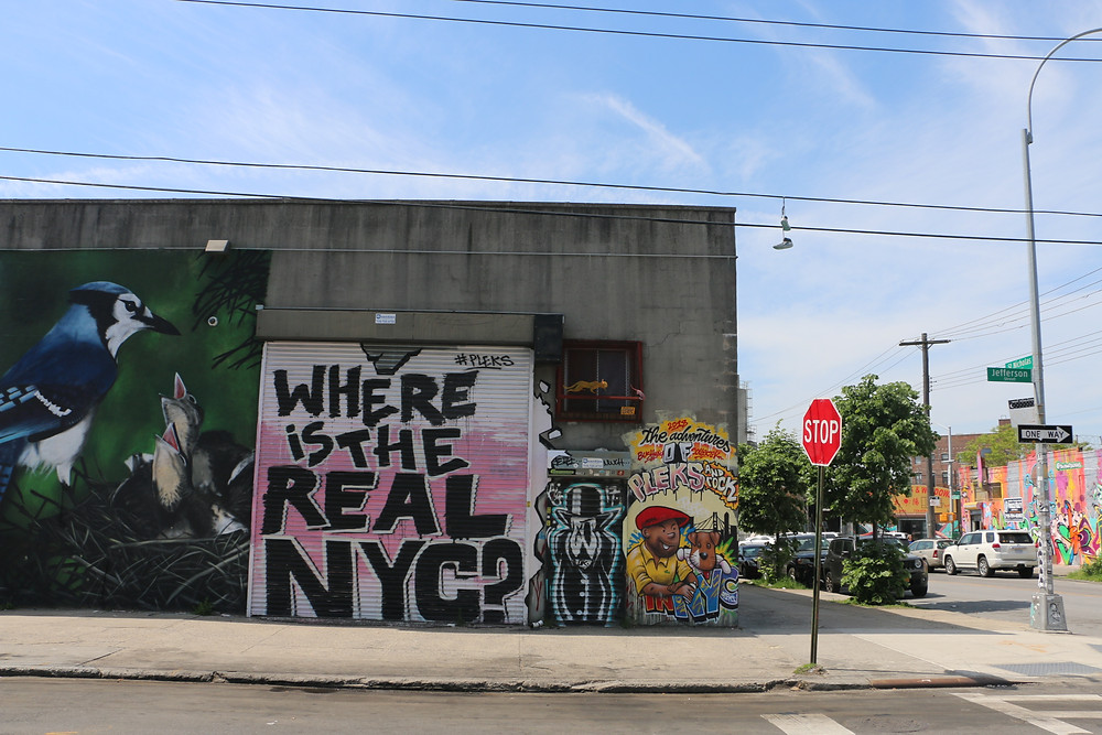 Graffiti Quotes of New York - Brooklyn