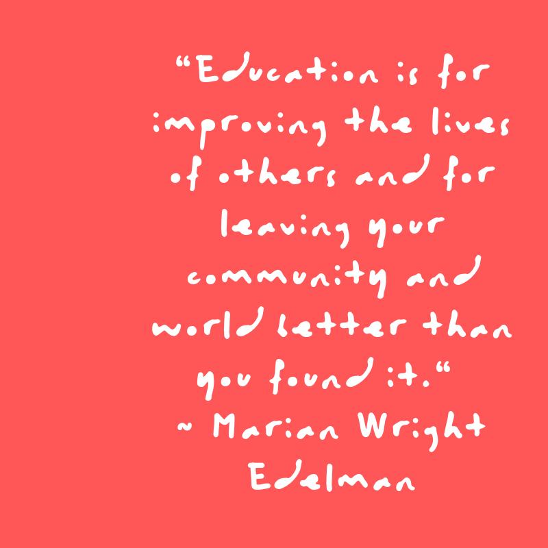 Marian Wright Edelman Quote