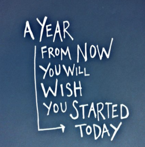 A year from now you'll wish you started today.