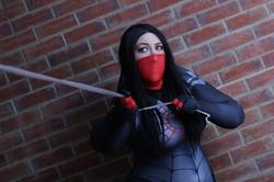 Silk (Cindy Moon) cosplay