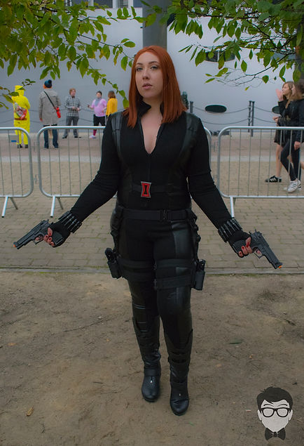Black Widow cosplay by BriiMassacre