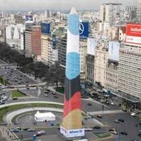 Obelisco y alemania