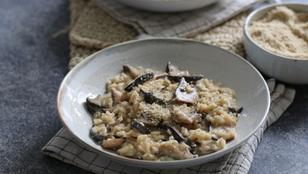 RISOTTO AI FUNGHI | Ricetta facile e gustosa | Senza burro e formaggio (vegan)
