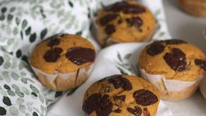 Muffin vegani alla Zucca - Senza Latte, Senza Uova