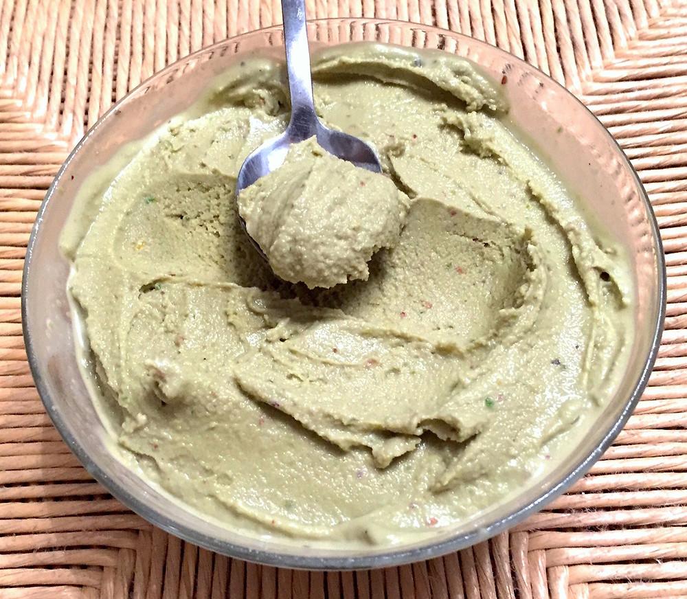 gelato pistacchio vegan
