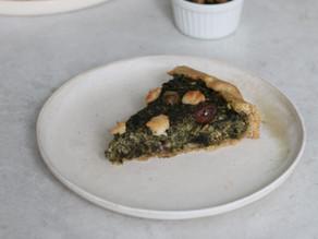 Torta Salata Vegana con Ricotta e Spinaci