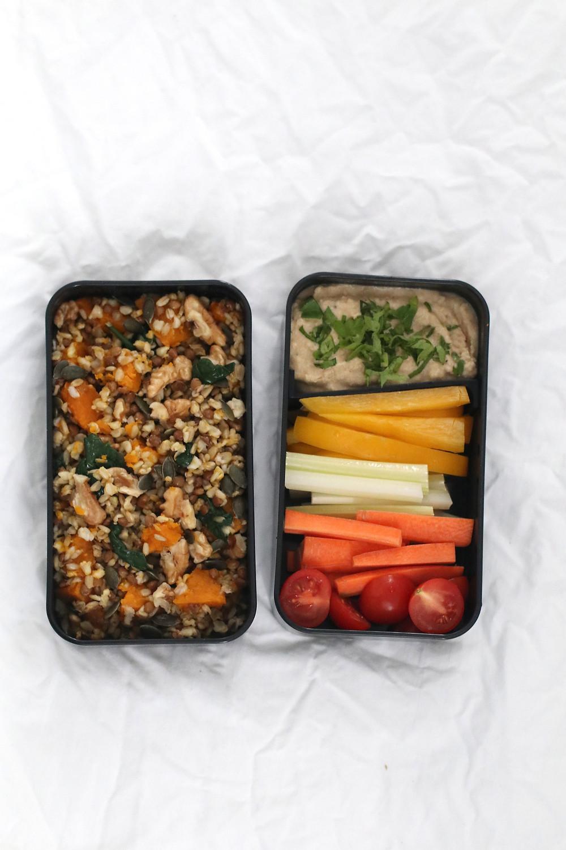 Ricetta Hummus Di Ceci Cucina Botanica.Pranzo N 3 Avena Con Zucca E Lenticchie Hummus Di Ceci Con Verdure