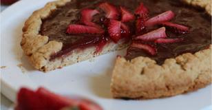 Crostata di Fragole Vegana - La Pasta Frolla Perfetta