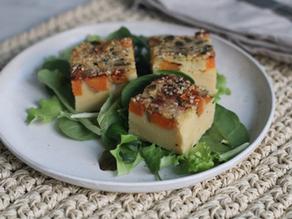 Frittata di Ceci con Verdure - ricetta vegana e senza glutine