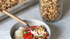 GRANOLA vegan fatta in casa | Perfetta per la colazione