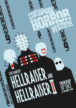 Hellraiser and Hellraiser 2 Poster