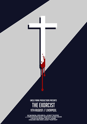 THE EXORCIST Minimalist print