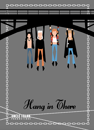 "019 LOST BOYS Greetings Card ""HANG IN THERE"""