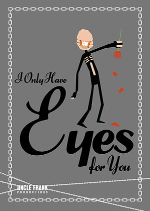 017 CHATTERER greetings card 'I only have eyes for you'