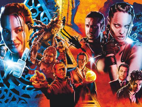 JOLIE GOOD FUN: Tomb Raider Packaging Design