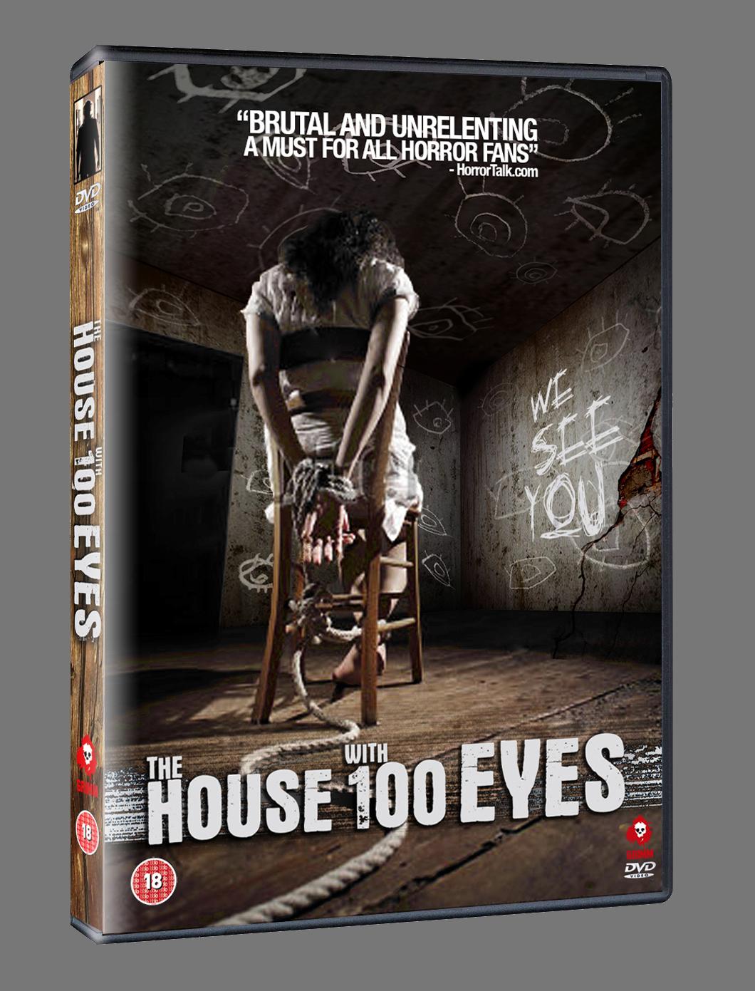 House of 100 Eyes DVD Mockup