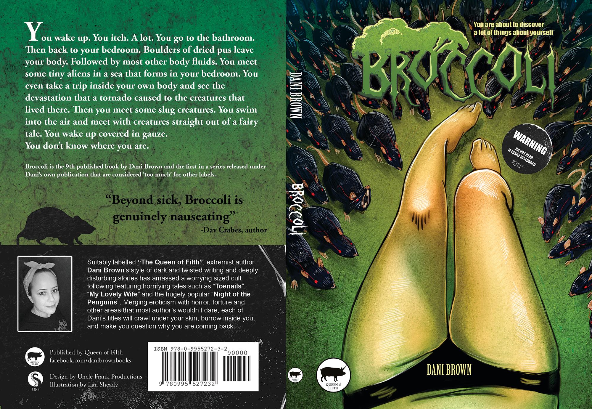 Dani Brown's Broccoli Cover