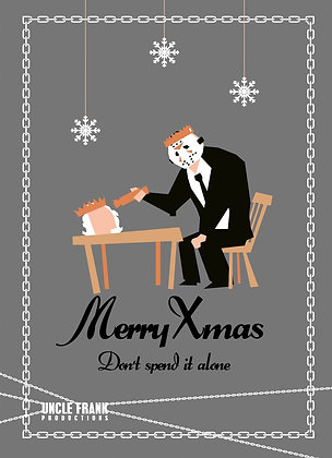 "020 JASONGreetings Card ""DON'T SPEND IT ALONE"""