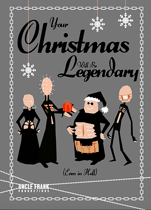 "029 HELLRAISER Greetings Card ""LEGENDARY"""