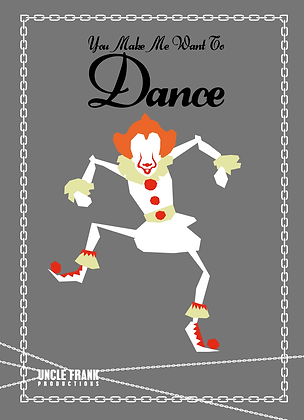 "050 PENNYWISE Greetings Card ""DANCE"""