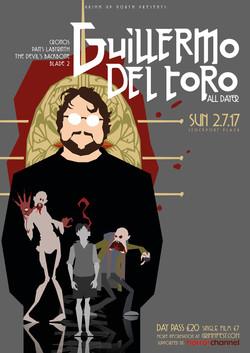 Guillermo Del Toro Festival Poster