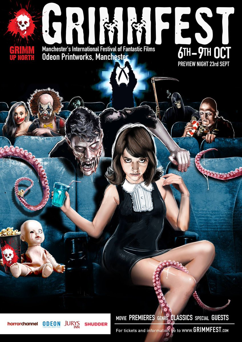 Grimmfest 16 Horror Festival Poster