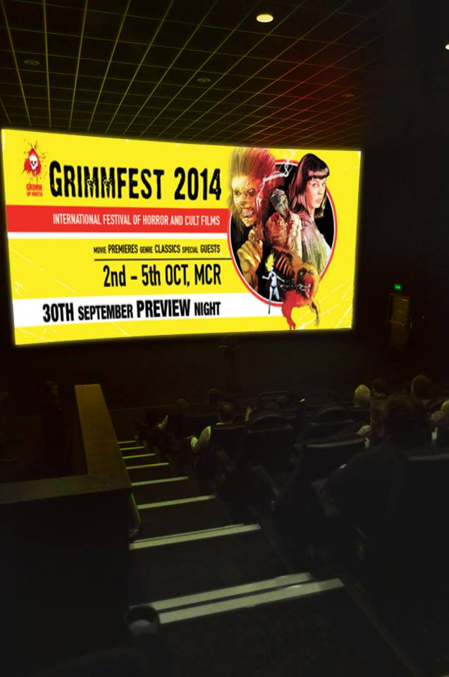 Grimmfest 2014 Cinema Screen