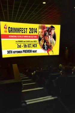 Grimmfest 2014 Cinema Screen