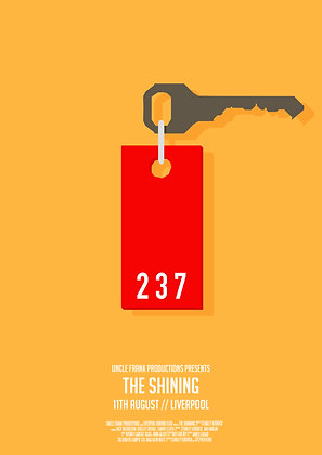 THE SHINING Minimalist print